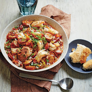Mixed Seafood Jambalaya Recipes.