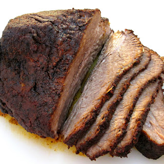 Texas Style Beef Brisket with Rub.