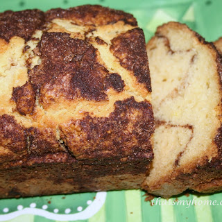 Cinnamon Sugar Bread.
