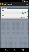 Screenshot of The First Mobile Banking