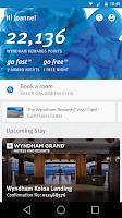 Screenshot of Wyndham Rewards