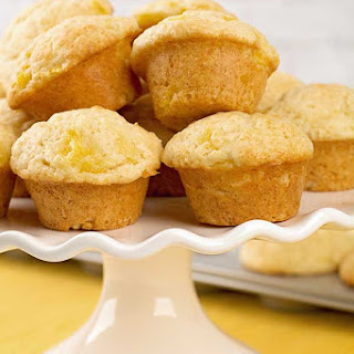 Pineapple Lemon Mini Muffins Recipe