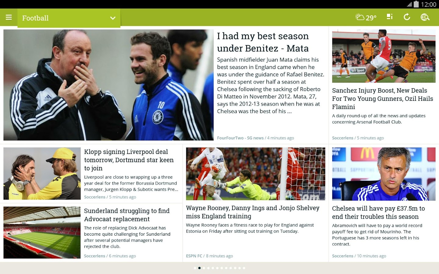 NewsLoop- screenshot
