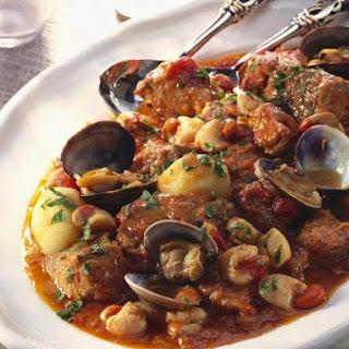 Portuguese Pork Stew.