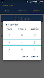Pace Helper screenshot 1
