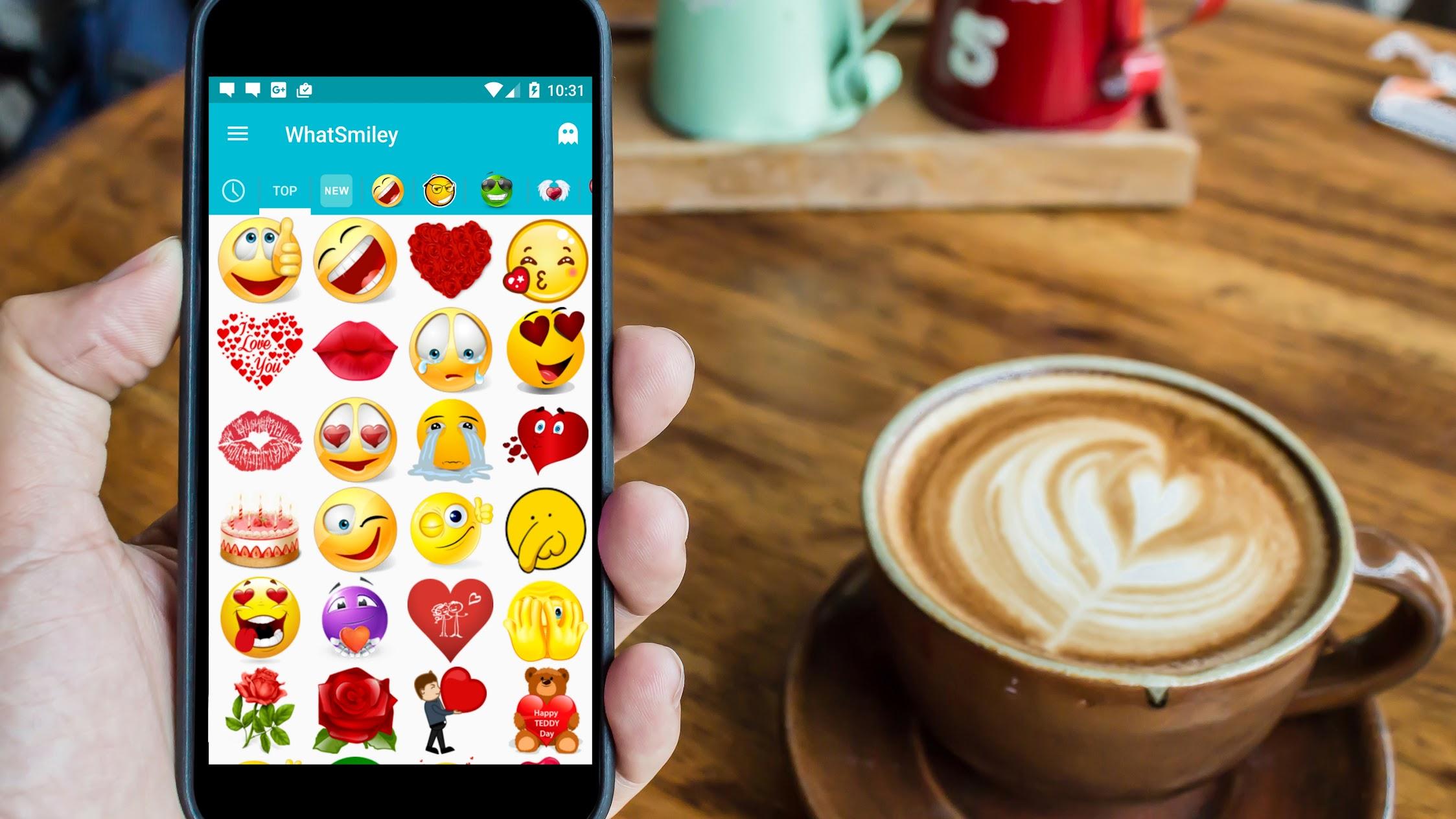 Share It Again - Smileys & Emoji Apps