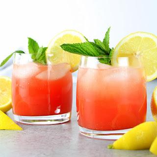 Watermelon Lemonade Prosecco Spritzer Recipe