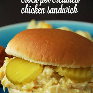 Crock Pot Creamed Chicken Sandwiches Recipes.