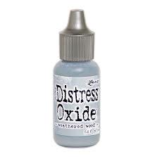 Tim Holtz Distress Oxide Ink Reinker 14ml - Weathered Wood