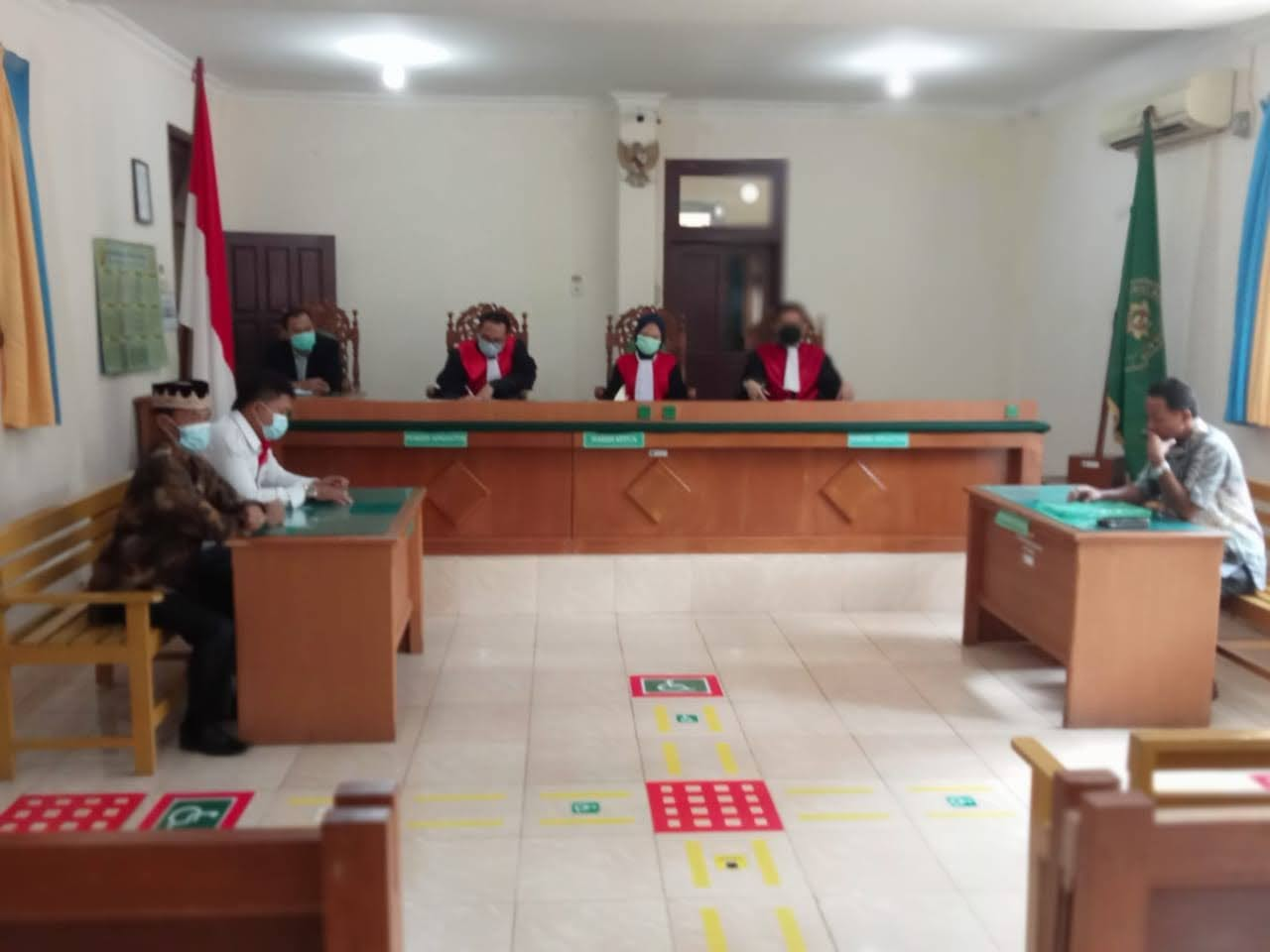 Sidang Perdata Money Politics Pekon Wonosari Kecamatan Gadingrejo Di Tunda