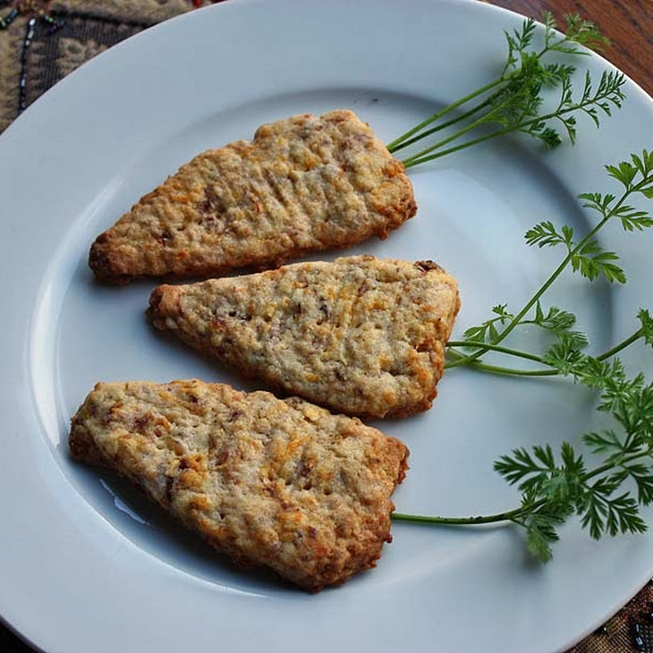 Apple and Carrot Biscuits