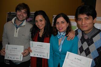 Photo: Les gagnants du concours réunis