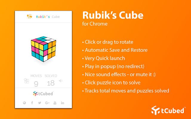 Colorful Rubik's Cube