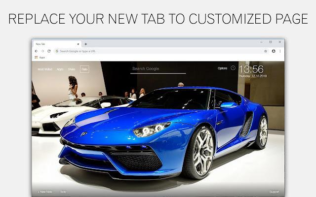 Lamborghini Cars Wallpapers Custom New Tab