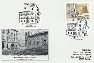 Photo: Tarjeta del matasellos del Palacio Ferrera de Avilés, durante la EXFIAVILES 2013