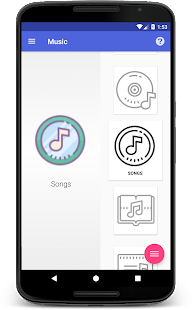 Android Mp3 Music Player Free Nougat - náhled