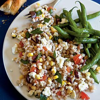Summer Barley Salad.