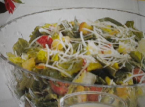 Pepperoni Caesar Salad Recipe