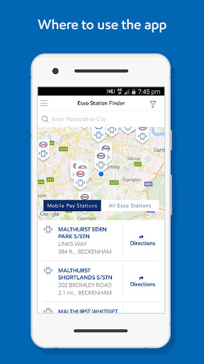 Esso: Pay for fuel & get points 0.7.7 screenshots 5