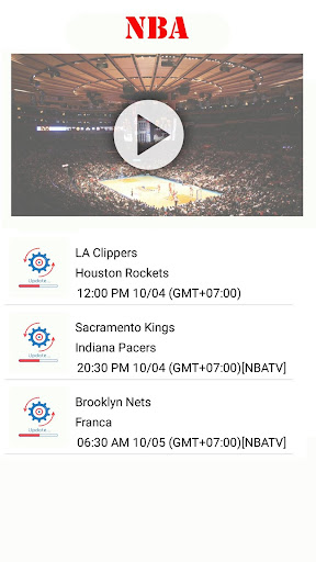 Watch NBA Basketball : Live Streaming for Free Apk 2