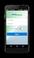 Screenshot of FastExact
