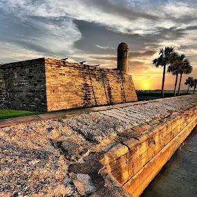 Castillo de San Marcos 2 by Costas Tsirgiotis - Buildings & Architecture Public & Historical