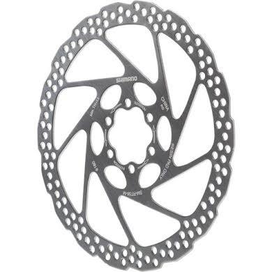 Shimano RT56M 180mm 6-Bolt Disc Brake Rotor, Resin Pad Only