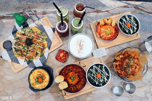 KATZ 卡司複合式餐廳,美術館旁美韓式創意料理,時尚裝潢好拍照網美愛店