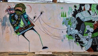 Photo: BRIAN ROSE GRAFFITI FULL WALL