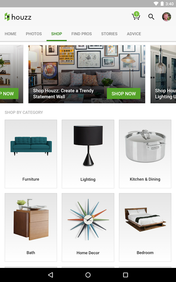 Houzz interior design ideas android apps on google play for Room design game app