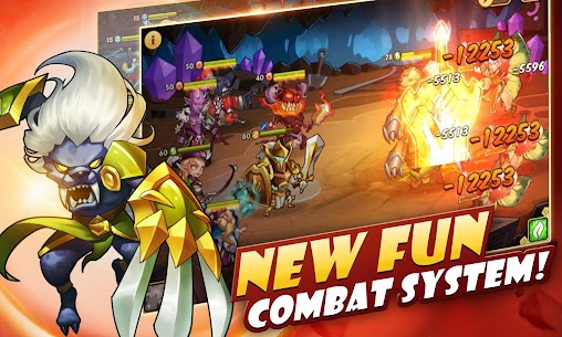 Idle Heroes MOD Apk 1.11.0 (Unlimited Gems) 3