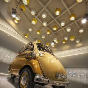 Isetta by Matthias Weigel - Transportation Automobiles ( munich, bmw, museum )