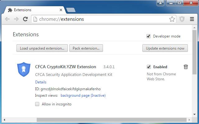 CFCA CryptoKit.YZW Extension