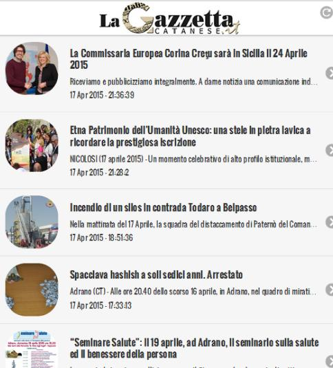 La Gazzetta Catanese- screenshot