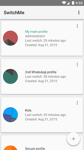 SwitchMe Multiple Accounts screenshot 1