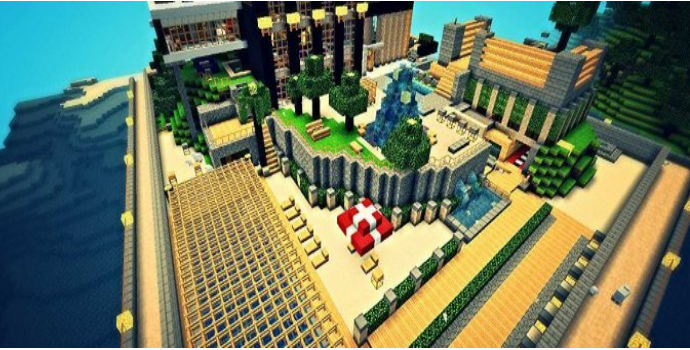 how to play adventure maps on minecraft with friends