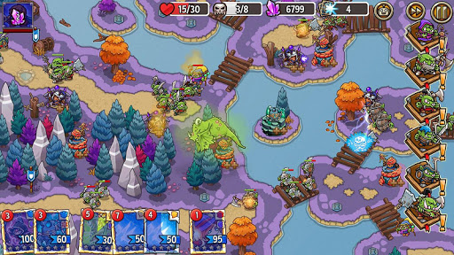 Crazy Defense Heroes: Tower Defense Strategy Game apktram screenshots 8