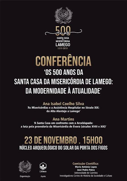 Conferências em Lamego ampliam conhecimento sobre misericórdias portuguesas