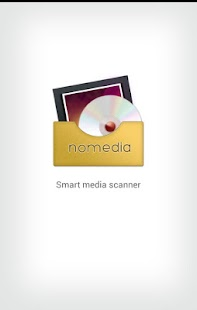 Nomedia - file manager & media scanner - náhled