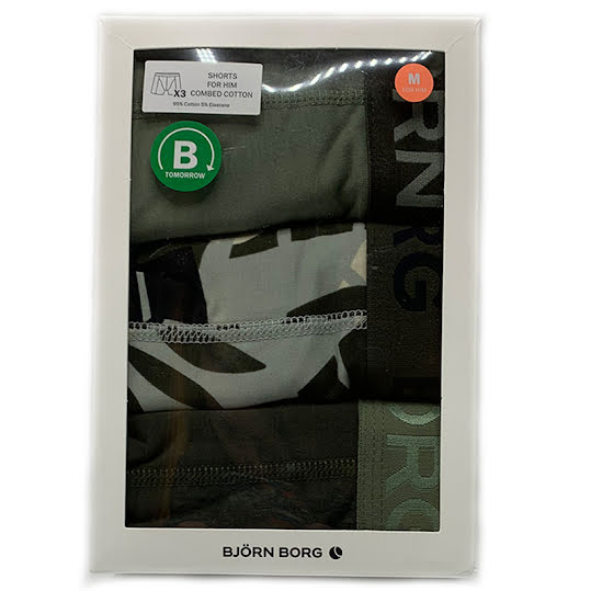 Björn Borg Jungle Sammy Boxershorts 3-Pack