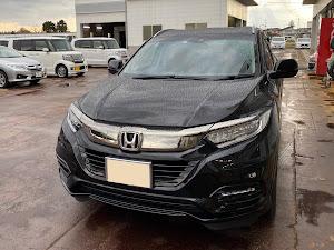ヴェゼル RU3 令和元年式 Honda SENSING HYBRID Zのカスタム事例画像 真っ黒にゃんこさんの2020年04月09日10:23の投稿