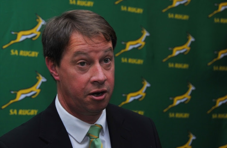 South African Rugby chief executive Jurie Roux.
