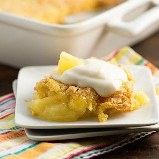 Pineapple-Coconut Dump Cake Recipe