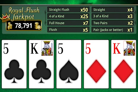 VIDEO POKER OFFLINE FREE! - Android Apps on Google Play