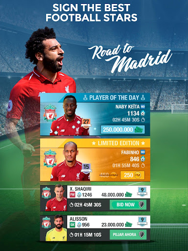 Liverpool FC Fantasy Manager 2019 - screenshot