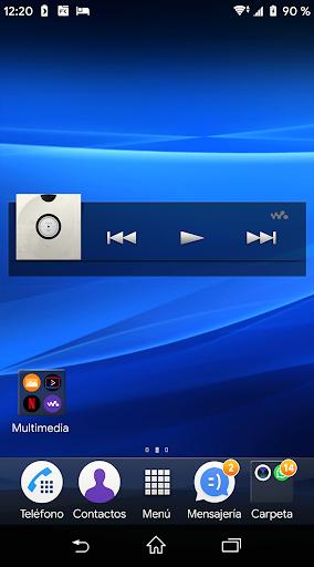 SEC- Theme Xperia LW  screenshots 1