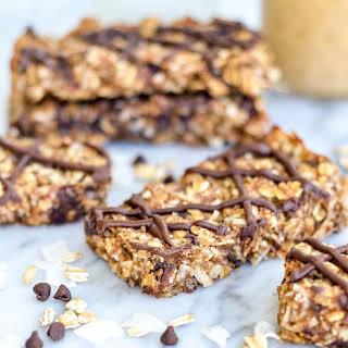 Date, Coconut & Peanut Butter Granola Bars.