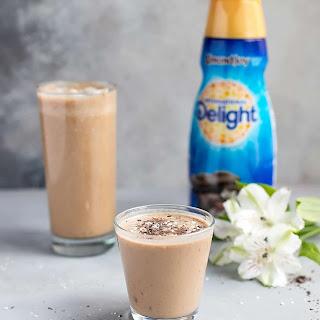 Easy Almond Coffee Smoothie.
