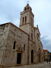 Photo: This is the 16th century cathedral of St. Mark and the Bishop's Palace.