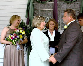 Photo: Married at their home 5/09  ~ www.WeddingWoman.net ~